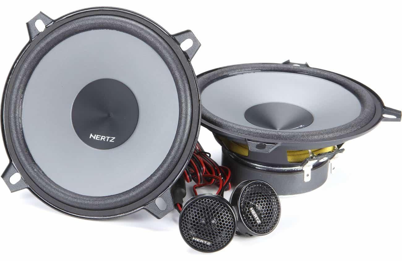 hertz car speakers