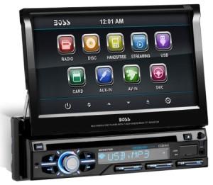 BOSS AUDIO BV9979B flip up car stereo review