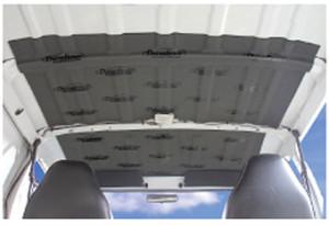Dynamat dyanliner car roof installation