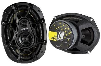 Kicker DS693 6X9 3 way speakers review