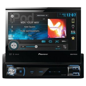Pioneer AVH-X7800BT flip up stereo review