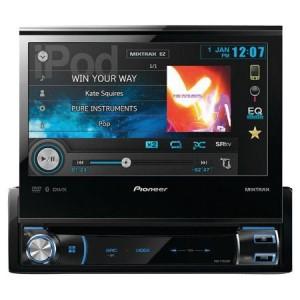 Pioneer AVH-X7800BT flip up stereo review