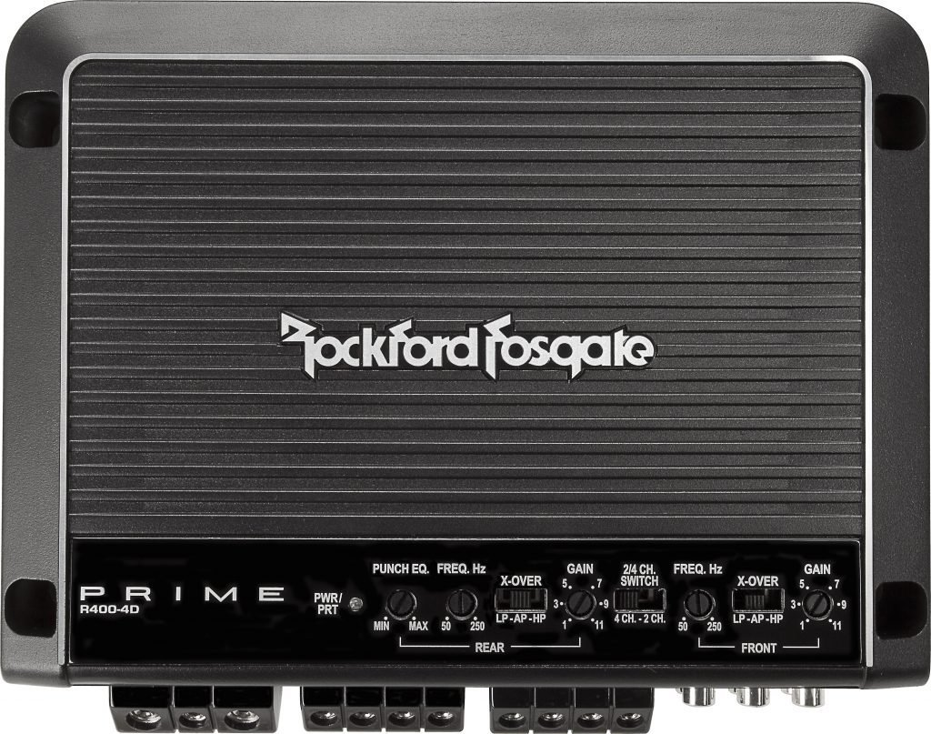 Rockford Fosgate R400-4D External Amplifier