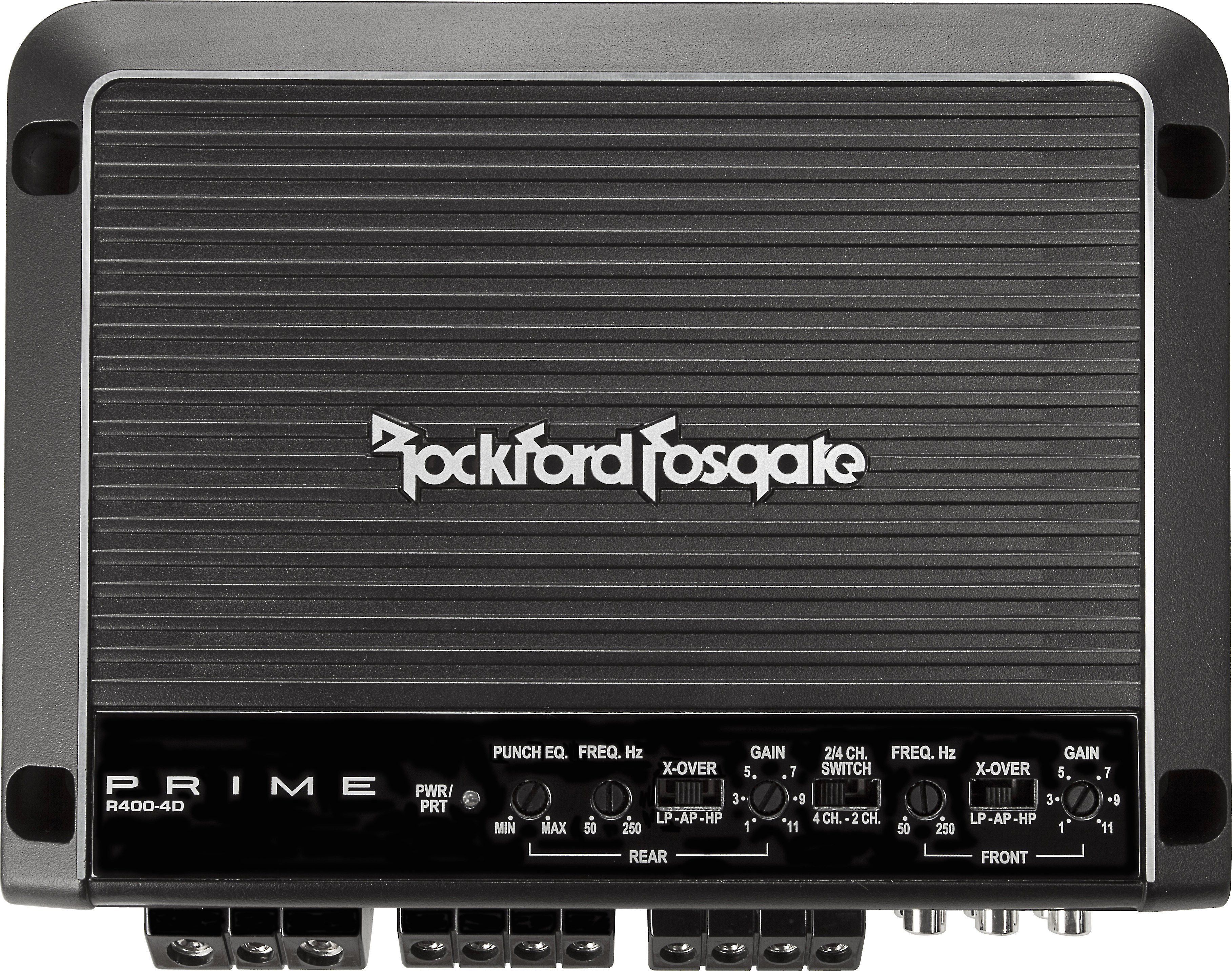 Rockford Fosgate R400-4D External Amplifier