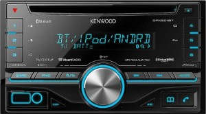Best Kenwood DPX501BT 2-DIN car stereo