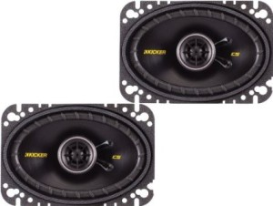 Kicker 40CS464 4X6 speakers review