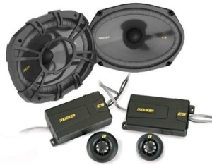 Kicker 40CSS694 6X9 component speakers review