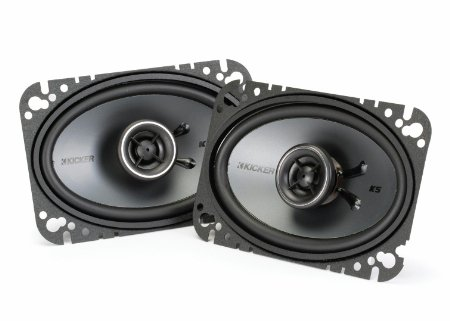 Kicker 41KSC464 4X6 speakers review
