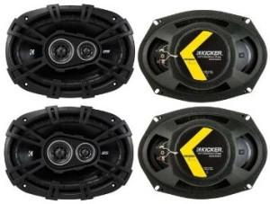 Kicker 43DSC69304 6X9 speakers review