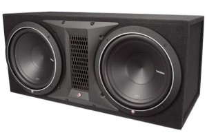 Rockford Fosgate P1-2X12 dual 12 inch subwoofer review
