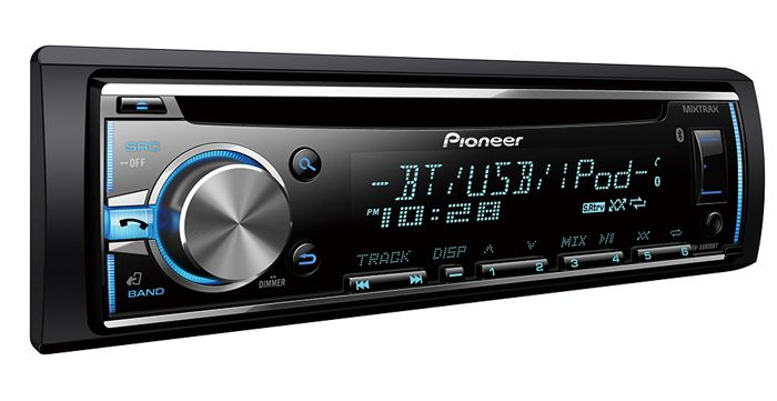 Pioneer DEH-X6800BT Review 3
