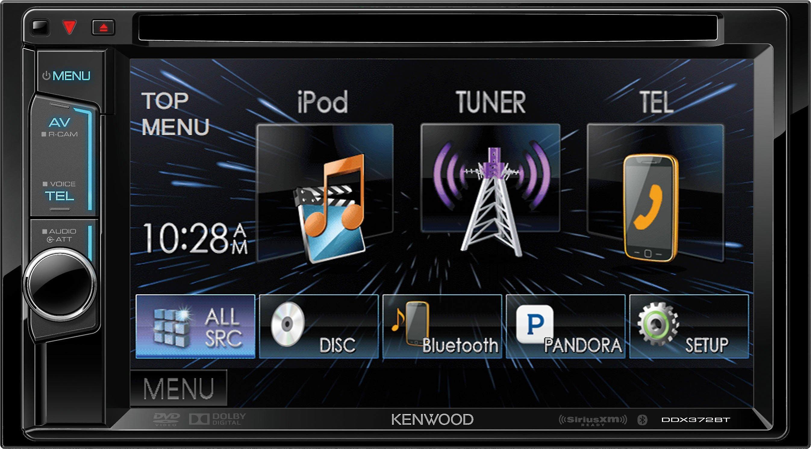 Kenwood DDX-372BT Touchscreen Double DIN Headunit