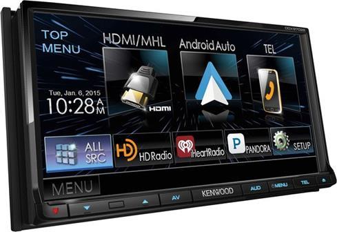 Kenwood DDX-9702S Touchscreen DVD Receiver