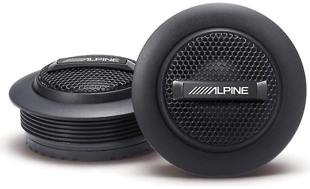 Alpine SPS-110 Silk Dome Tweeters