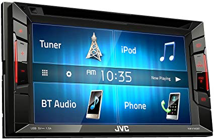 JVC KWV140BT Double Din Touch Screen Stereo