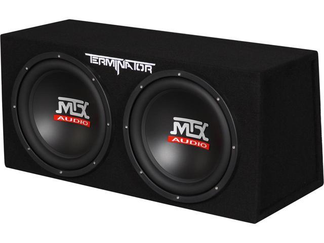 MTX Audio TNE212D Dual Subwoofer Review