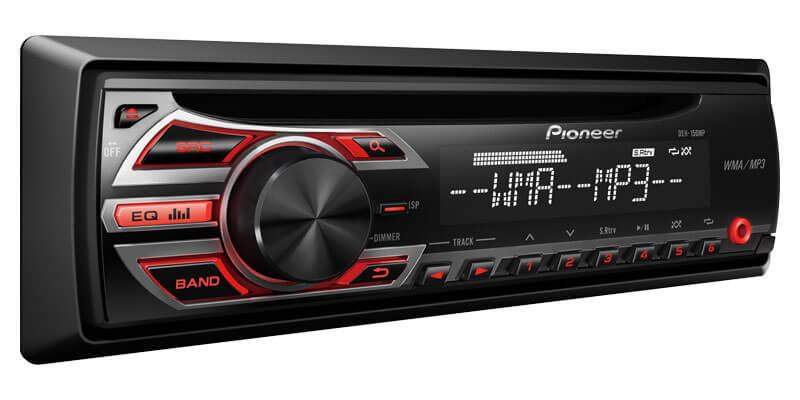 Pioneer DEH-150MP Single DIN Head Unit