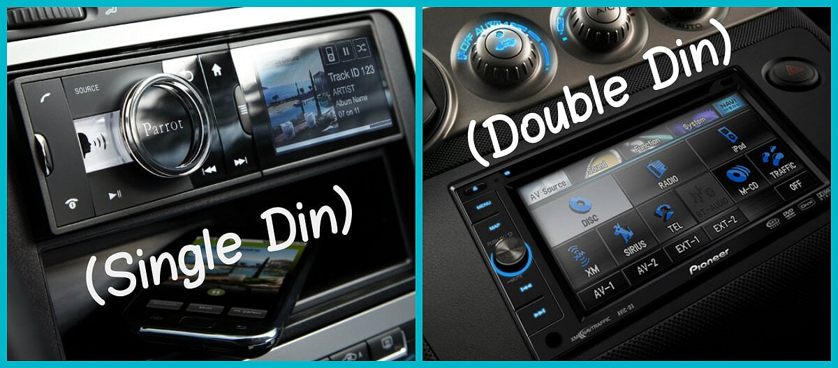 Single DIN vs Double DIN Head Unit