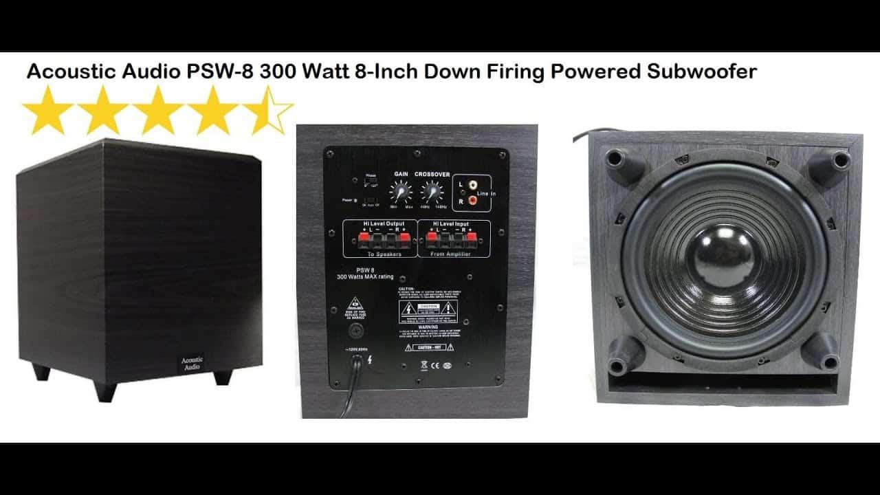Acoustic Audio PSW 8 Inch