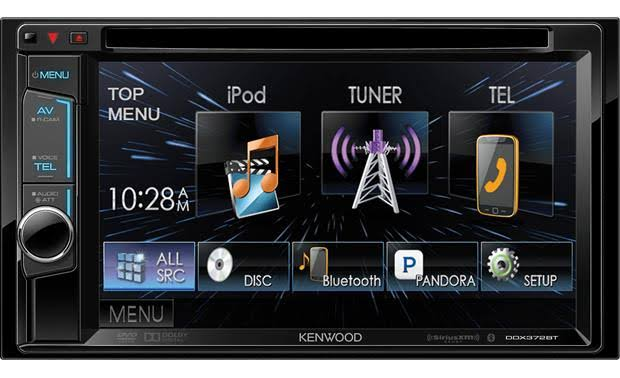 Kenwood DDX372BT Double DIN Head Unit