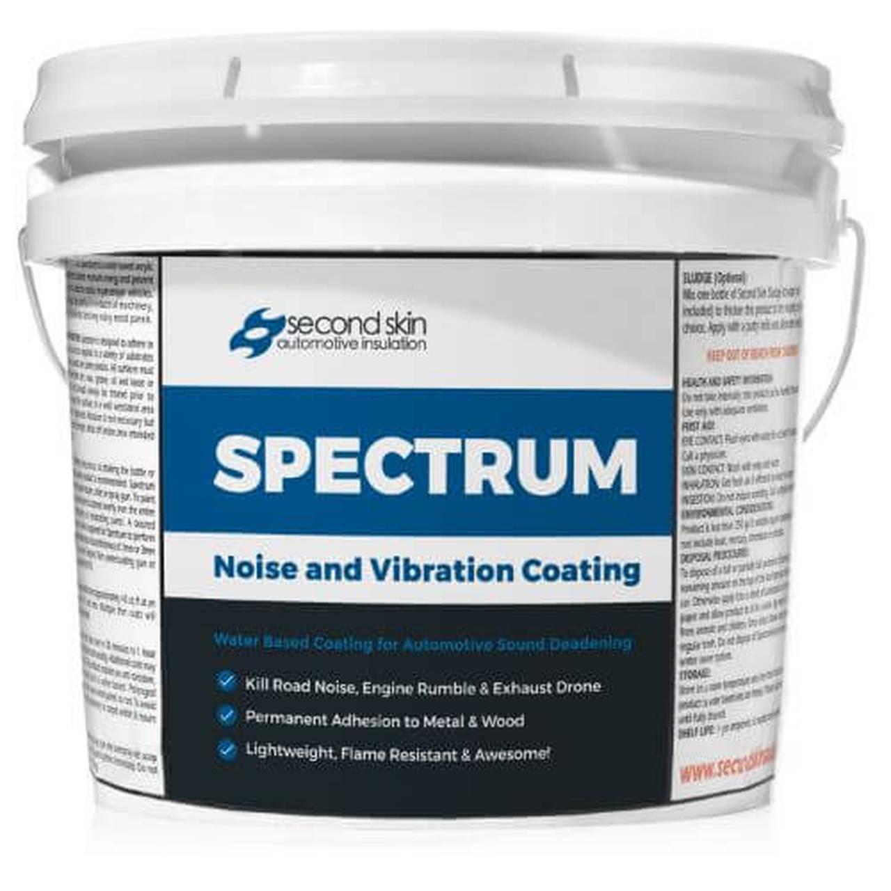 Second Skin Audio Spectrum Audio Liquid Spray Sound Deadener