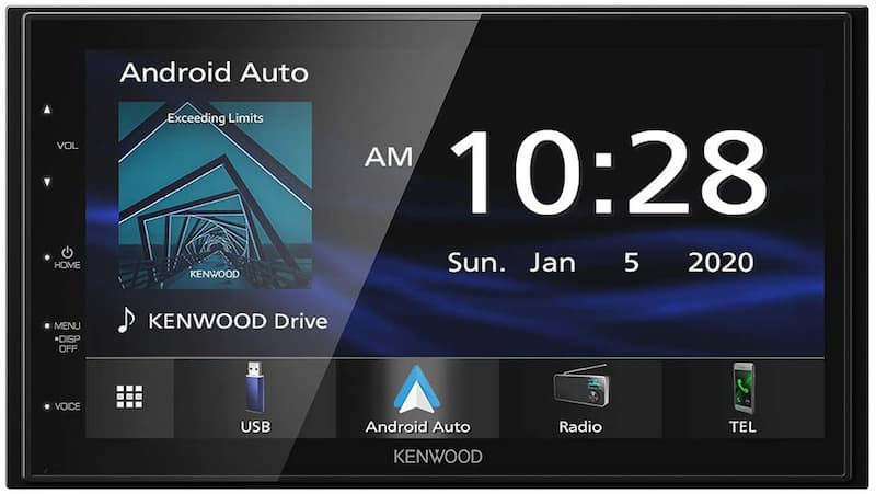 """Kenwood DMX4707S 6.8"""" Capacitive Touch screen Digital Multimedia Receiver"""